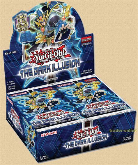 Yugioh Shining Original the illusion yugioh display box german yugioh