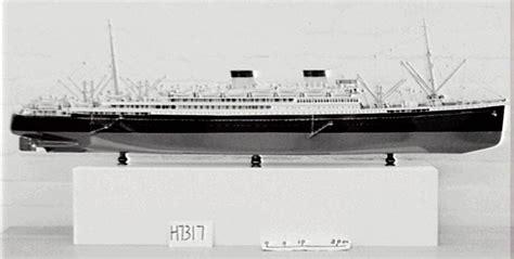 "Ship model, MV ""Britannic"", Bassett & Lowke Ltd.   MAAS"