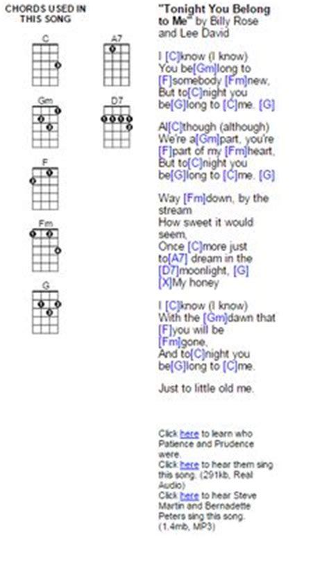 strum pattern tonight you belong to me do your ears hang low ukulele fingerpicking pattern