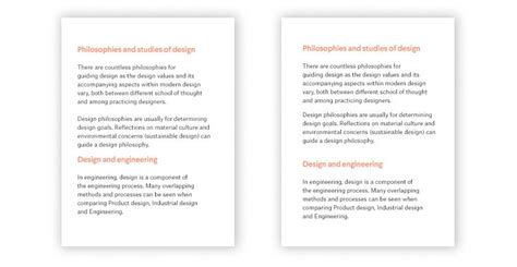paragraph section 6 tips for better typographic hierarchy in web design