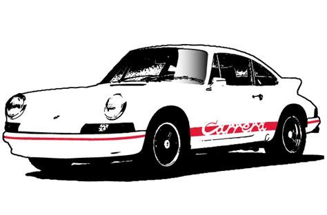 Porsche Vector 123freevectors