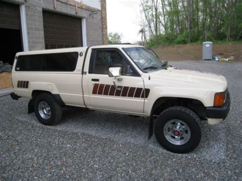 1985 Toyota Tacoma Purchase Used 1985 Toyota 4x4 Beautiful Original Condition