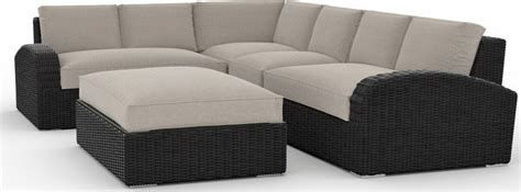 toja patio furniture azores  piece outdoor sectional sofa