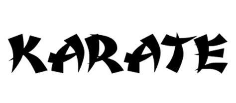 Karate Letter 30 Useful And Free Styled Fonts Naldz Graphics