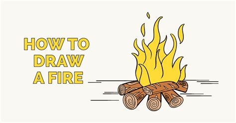 draw  fire    easy steps easy drawing guides