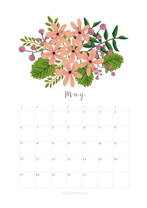 printable   calendar monthly planner flower design calendar design   calendar