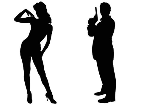 james bond silhouette 1000 images about james bond fest on pinterest james