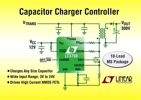 high voltage capacitor charger controller with regulation lt3750 capacitor charger controller linear 28 images large capacitor charge quot controllers