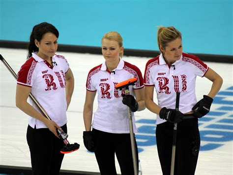 pictures of women of the winter olympics from the 1940s file women s curling at the 2014 winter olympics russia