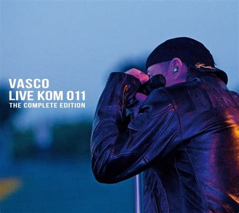 vasco copertine album vasco live kom 011 the complete edition cd cover