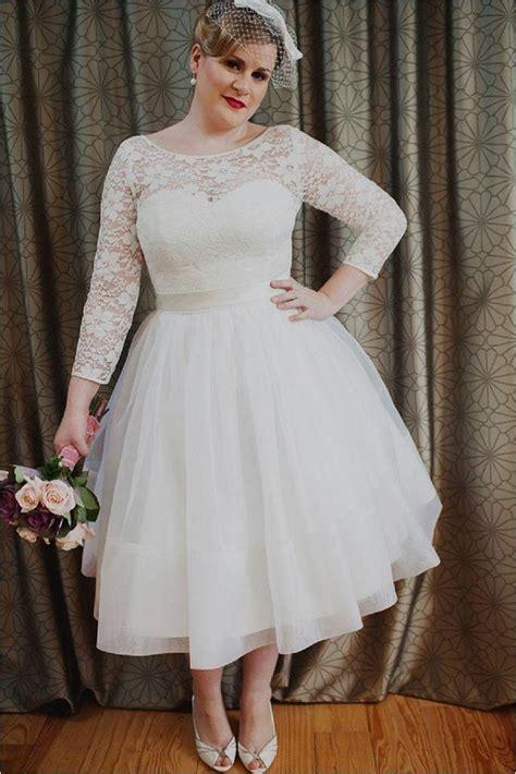 Vintage Wedding Dresses Size by Vintage Plus Size Wedding Dresses Www Pixshark