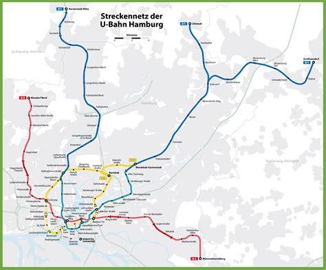 bahn map germany hamburg u bahn map