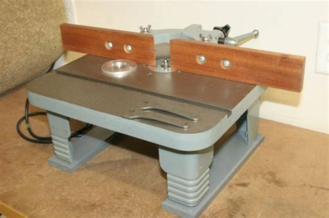 sears premium die cast aluminum router table best 25 craftsman router table ideas only on