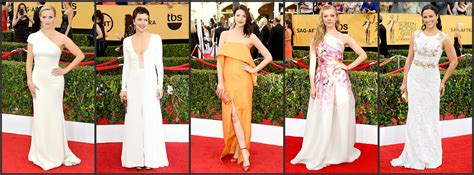 chelsea peretti and lauren lapkus 2015 sag awards red carpet a very sweet blog