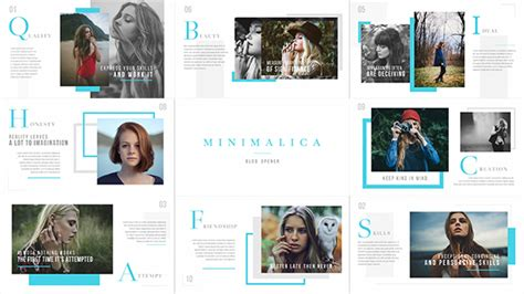after effects free template magazine minimalica blog opener books and magazines after