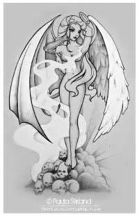 half angel half demon by hatefueled on deviantart