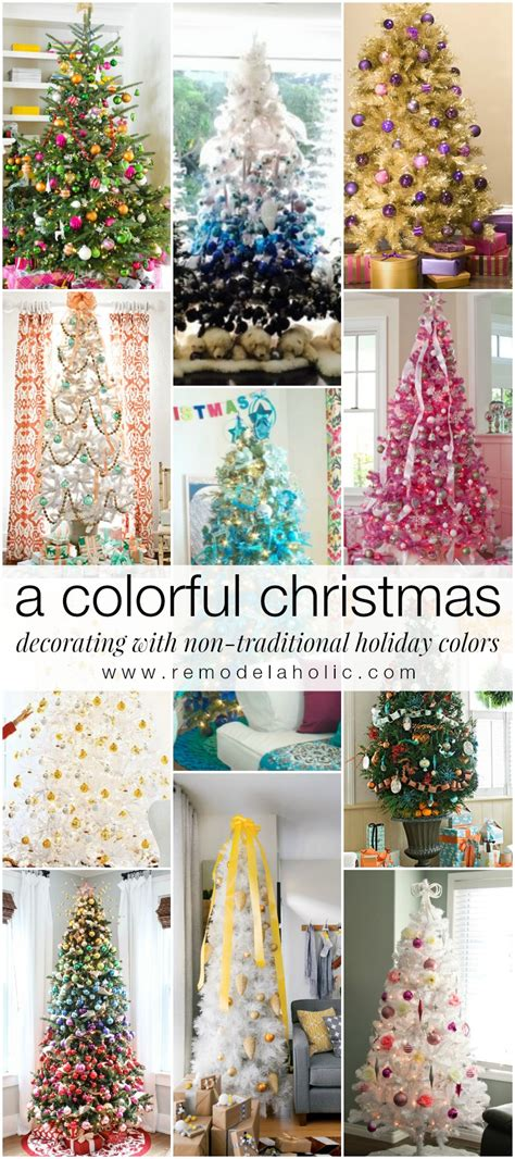 Living Room Wall Colours - remodelaholic decorating with non traditional christmas colors