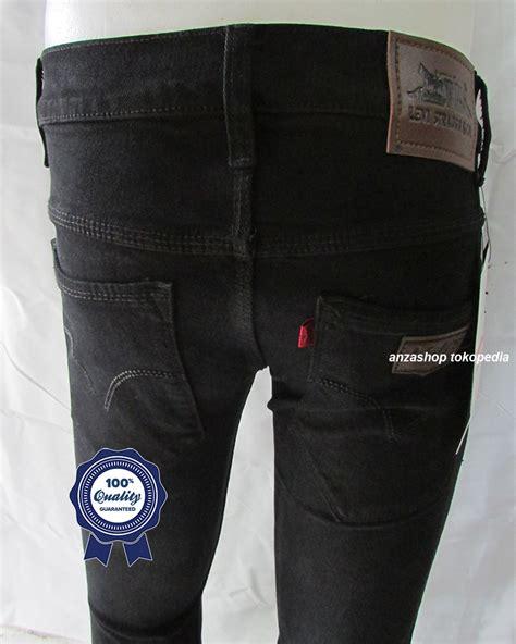Celana Cowok Pria Branded Levi S Levis Pensil Streach Sp jual celana branded levi s levis pensil streach hitam co anza shop