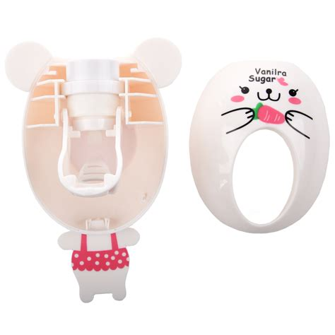 Dispenser Quality automatic toothpaste dispenser child toothbrush holder