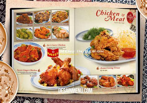 design buku menu makanan desain buku menu design menu book