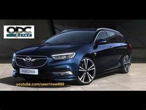 Opel Insignia Sports Tourer New 2017 Opel Insignia Sports Tourer Opc Line Color