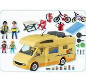 PLAYMOBIL  3647 Famille Avec Camping Car
