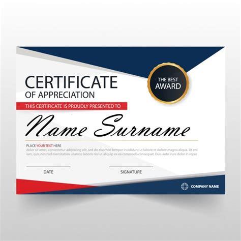free certificate of appreciation template downloads abstract certificate of appreciation template vector