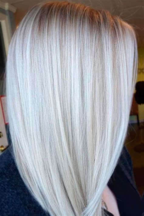 pics of platinum blonde highlights 40 platinum blonde hair shades and highlights for 2018