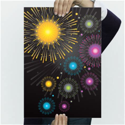 fireworks  poster templates backgrounds