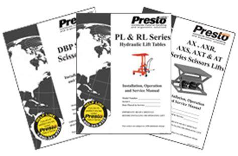presto lifts parts wiring diagrams wiring diagrams
