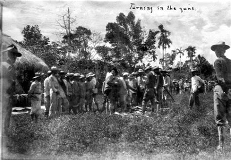 the philippine american war 18991902 18991913 general capistrano s men turn in their guns