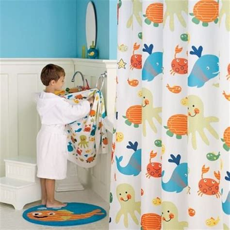 Kid Bathroom Shower Curtains Shower Curtain Sets Decor Ideasdecor Ideas
