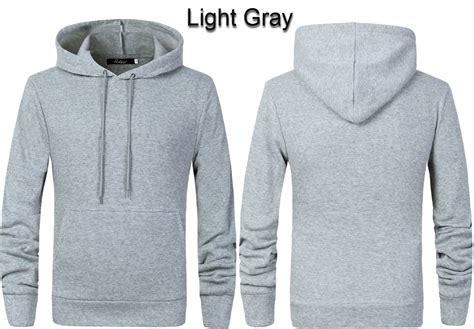 Hk Jaket Almond Hoodie Grey mens plain hoody size m pullover sweatshirt coat jacket