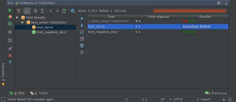 python tutorial unit testing your code with the unittest pycharm testing your python code with pycharm 推酷