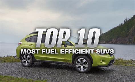 Best Fuel Efficient Suv by Top 10 Most Fuel Efficient Suvs 187 Autoguide News