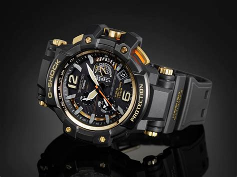 Jam Tangan Brigade Gba 400 Black Gold Original promo g shock black x gold series gpw1000gb 1a