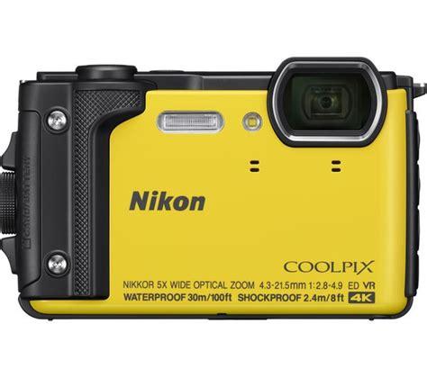 nikon tough buy nikon coolpix w300 tough compact yellow