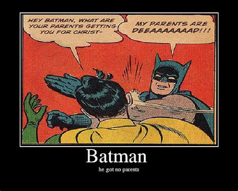 Batman And Robin Slap Meme - image 32508 my parents are dead batman slapping