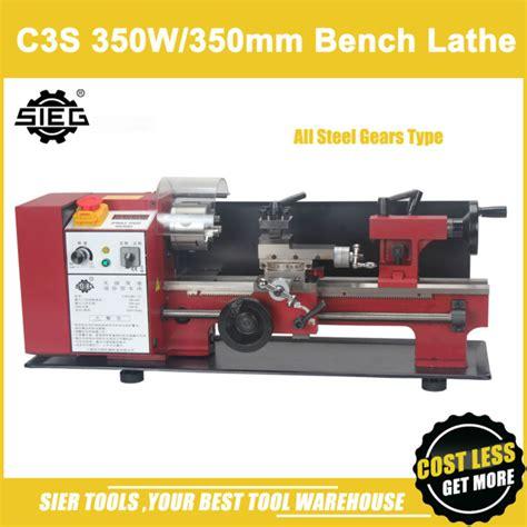 Mesin Bubut Mini Rakitan Diy 6 In 1 20 000rpm aliexpress buy c3s mini lathe with all steel gears sieg 350w lathe machine 350mm working