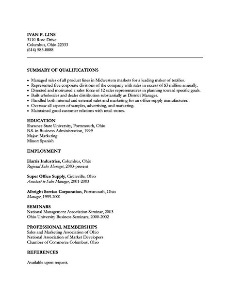 automobile sales executive resume free sles