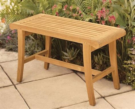 small outside bench small outdoor grade a teak wood bench