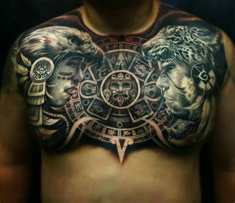 tattoo azteca azteca aztec tattoos aztlan being mexican