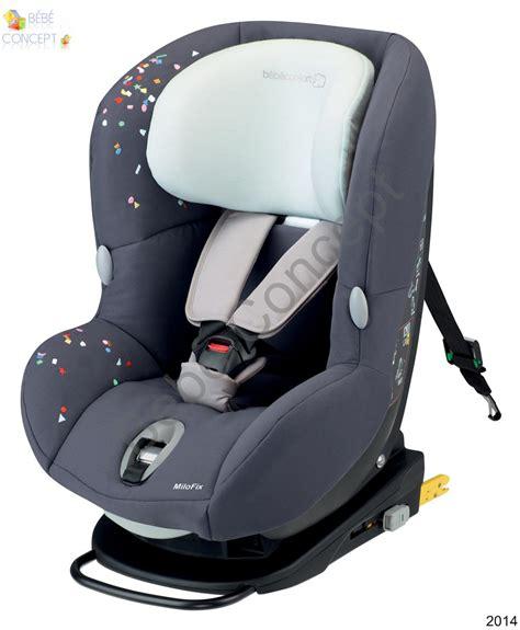 si鑒e auto milofix bebe csige auto milofix confort isofix groupe 0 1 co