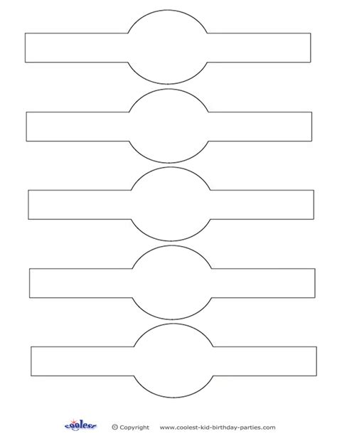 Printable Napkin Rings Jewelry Chionship Ring Design Template