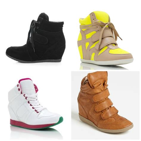 Sneakers Wedges fashion friday sneaker wedges sagach