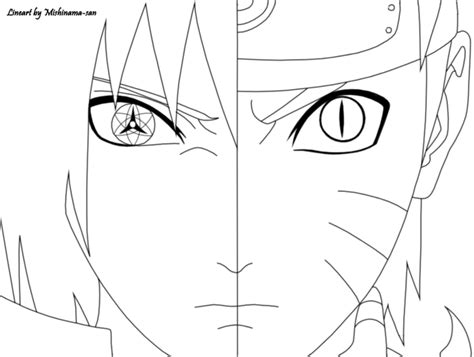 naruto and sasuke lineart by kryptonstudio on deviantart naruto and sasuke lineart by mishinama san on deviantart