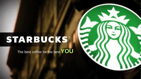 Starbucks Slidegenius Powerpoint Design Presentation Experts Starbucks Powerpoint Template