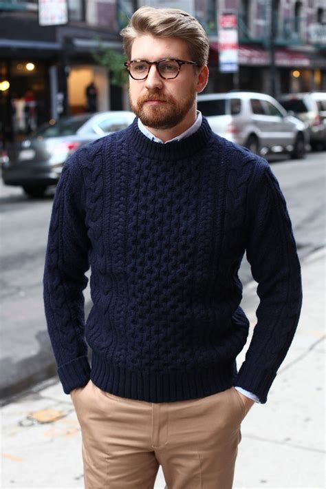 big men style over 40 and overweight comment bien porter le pull en laine lifestyle conseil
