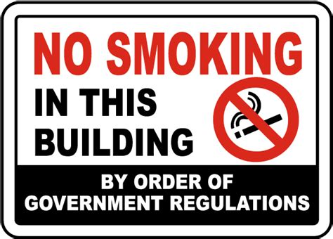 no smoking sign requirements california no smoking in this building sign j2512 by safetysign com