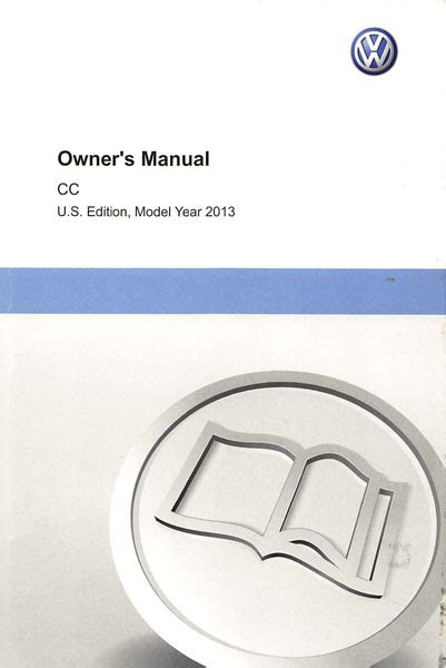 Volkswagen Cc Owners Manual by 2013 Volkswagen Cc Owners Manual In Pdf